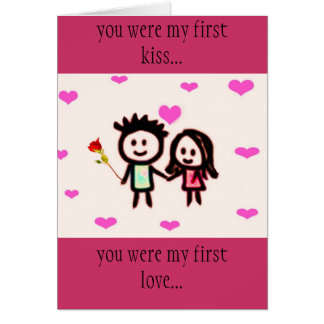 first love greeting cards