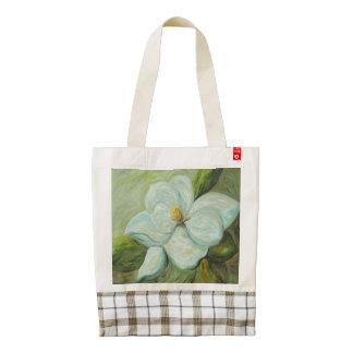 First Magnolia Zazzle HEART Tote Bag