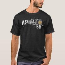 first man moon aerosphere moon landing spaceship T-Shirt
