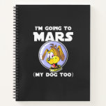First Man on Mars Notebook