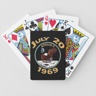 First Man on the Moon Commemorative Playing Cards