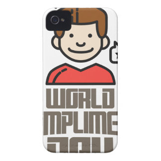 First March - World Compliment Day Case-Mate iPhone 4 Case