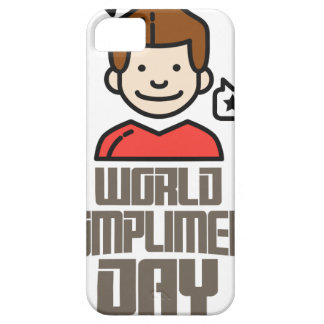 First March - World Compliment Day iPhone SE/5/5s Case