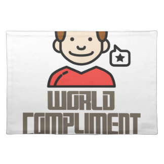 First March - World Compliment Day Placemat