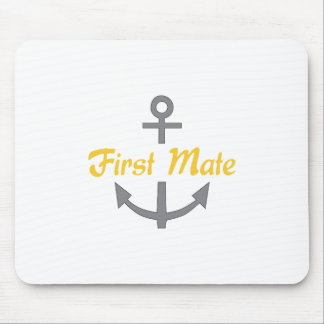 First Mate Anchor Mouse Pad