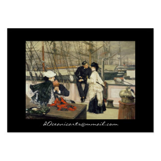First Mate and Captain Large Business Cards (Pack Of 100)
