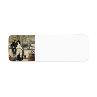First Mate and Captain Return Address Label
