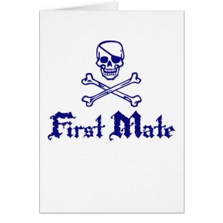 First Mate Card
