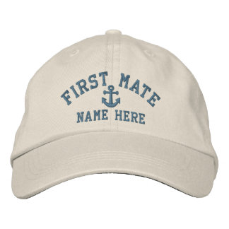 First Mate - customizable Baseball Cap