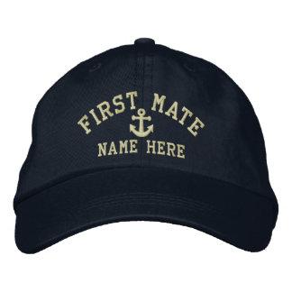 First Mate - customizable Baseball Cap