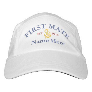 First Mate - customizable Hat