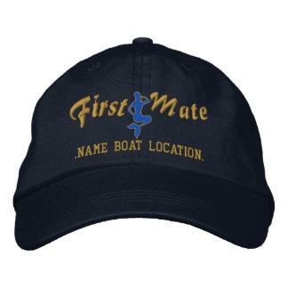 First Mate Mermaid Cap Personalize it!