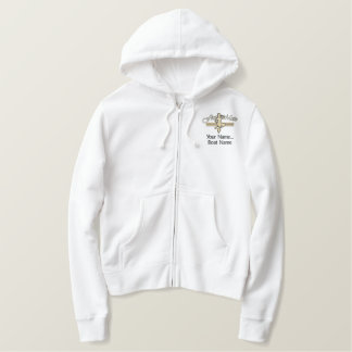 First Mate Mermaid Personalize it! Embroidered Hoodie