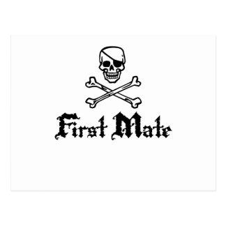 First Mate Postcard