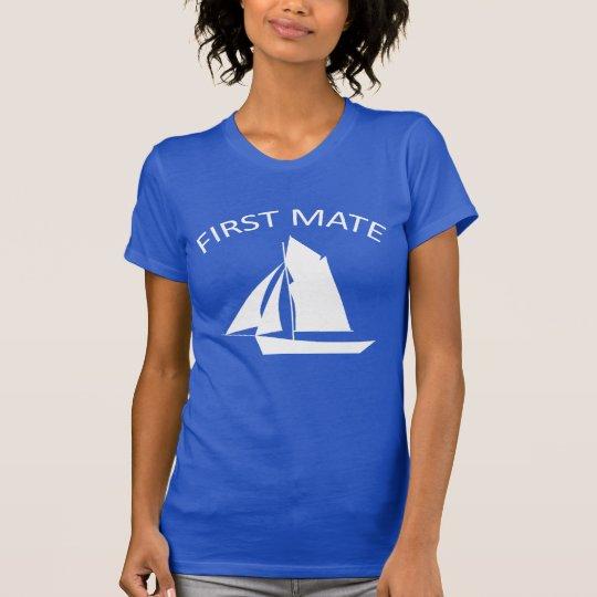 First Mate Sailor Womens American apparel T-Shirt