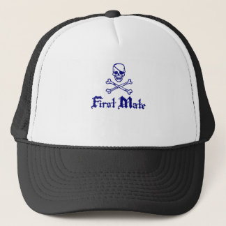 First Mate Trucker Hat