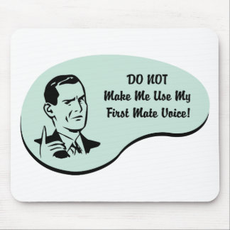 First Mate Voice Mouse Pad