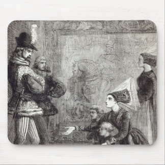First Meeting of Edward IV and Lady Elizabeth Mousepads