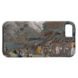 First Meeting of French Explorers with the Indigen iPhone SE/5/5s Case