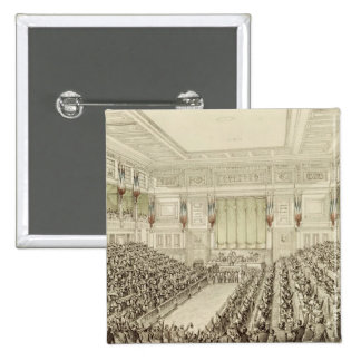 First Meeting of the National Assembly 2 Inch Square Button