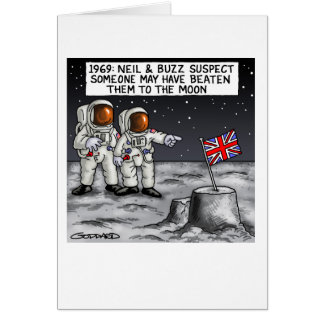First Men on the Moon Card