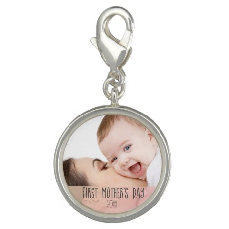 First Mothers Day 2021 - Custom Mom and Baby Photo Charm