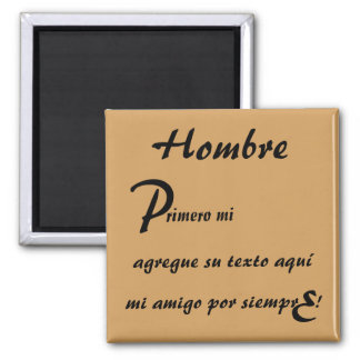 First My Forever My Custom Template Espanol Magnet