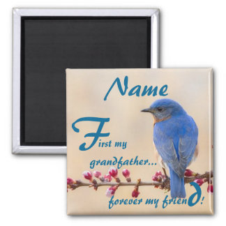 First My Forever My Grandfather Magnet