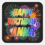 "[ Thumbnail: First Name ""Anna"", Fun ""Happy Birthday"" Sticker ]"