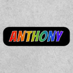 """[ Thumbnail: First Name """"Anthony"""" ~ Fun Rainbow Coloring ]"""