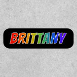 """[ Thumbnail: First Name """"Brittany"""" ~ Fun Rainbow Coloring ]"""