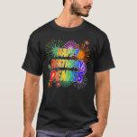 "[ Thumbnail: First Name ""Dennis"", Fun ""Happy Birthday"" T-Shirt ]"