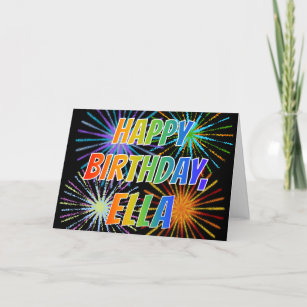 Ella Rose Design by Tracks Cards. Happy 30th Birthday Card