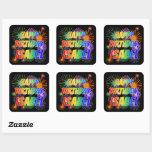 "[ Thumbnail: First Name ""Isabel"", Fun ""Happy Birthday"" Sticker ]"