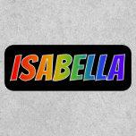 """[ Thumbnail: First Name """"Isabella"""" ~ Fun Rainbow Coloring ]"""