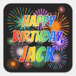 """[ Thumbnail: First Name """"Jack"""", Fun """"Happy Birthday"""" Sticker ]"""