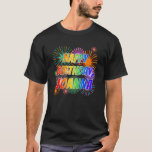 "[ Thumbnail: First Name ""Joanna"", Fun ""Happy Birthday"" T-Shirt ]"