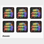 """[ Thumbnail: First Name """"Matthew"""", Fun """"Happy Birthday"""" Sticker ]"""