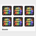 "[ Thumbnail: First Name ""Misty"", Fun ""Happy Birthday"" Sticker ]"