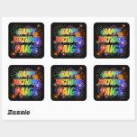 "[ Thumbnail: First Name ""Paige"", Fun ""Happy Birthday"" Sticker ]"