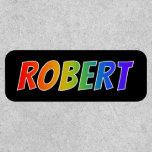 """[ Thumbnail: First Name """"Robert"""" ~ Fun Rainbow Coloring ]"""