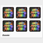 """[ Thumbnail: First Name """"Sara"""", Fun """"Happy Birthday"""" Sticker ]"""