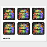 "[ Thumbnail: First Name ""Spencer"", Fun ""Happy Birthday"" Sticker ]"