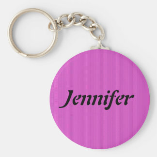 First Name Template Keychain