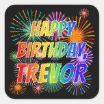 "[ Thumbnail: First Name ""Trevor"", Fun ""Happy Birthday"" Sticker ]"