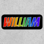 """[ Thumbnail: First Name """"William"""" ~ Fun Rainbow Coloring ]"""