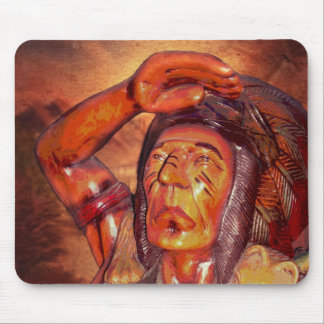 First Nation Vintage American Indian Mouse Pad