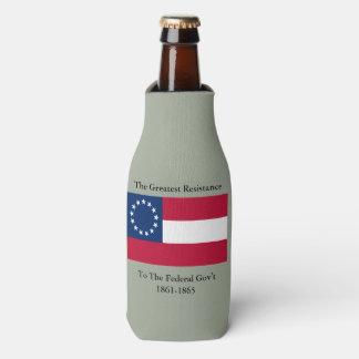 First National Flag Resistance Bottle Cooler