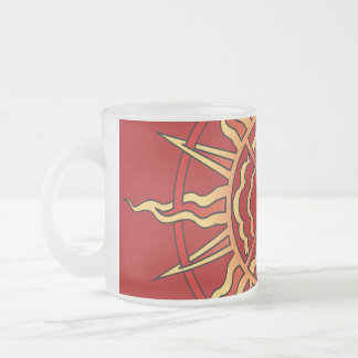 First Nations Sun Beer Glass Native Life Force Mug