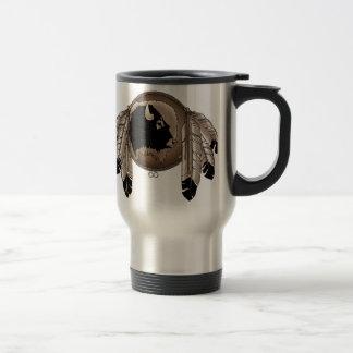 First Nations Travel Mug Wildlife Art Coffee Cup